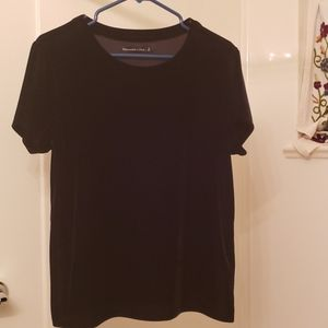 Abercrombie and Fitch Velour top